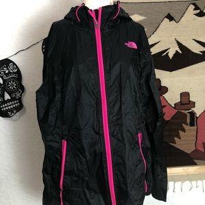 Northface wind breaker jacket